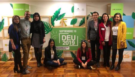 Foto de los organizadores del Día del Emprendimiento Universitario