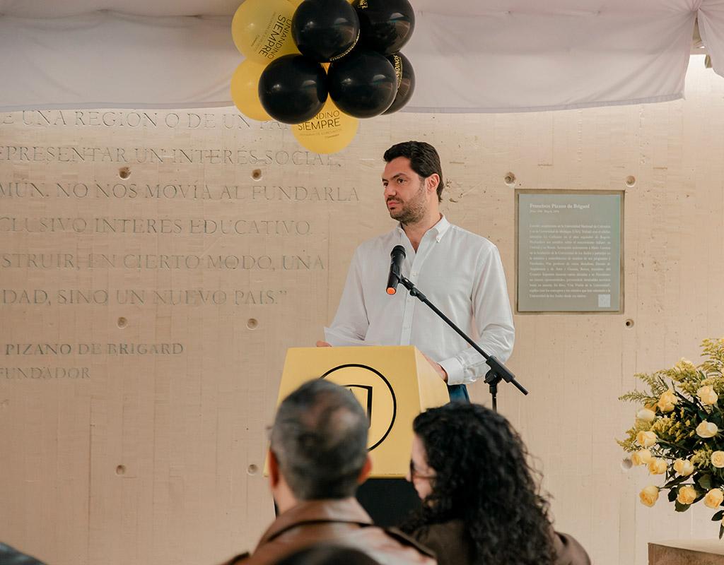 Eduardo Behrentz, vicerrector de Desarrollo y Egresados, Universidad de los Andes