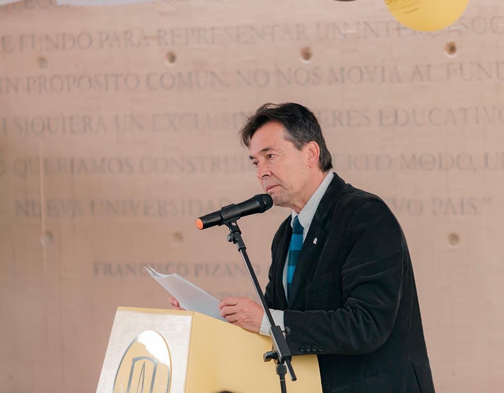 Manuel Jiménez, vicepresidente nacional (suplente), Asociación de Egresados de la Universidad de los Andes – Uniandinos