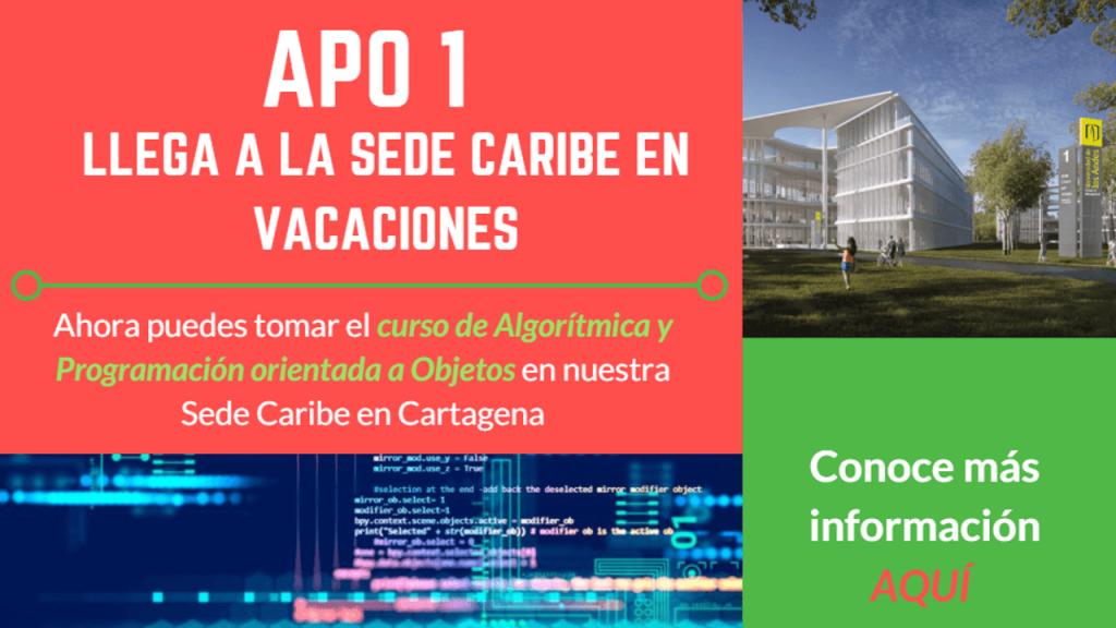 Afiche del curso APO1