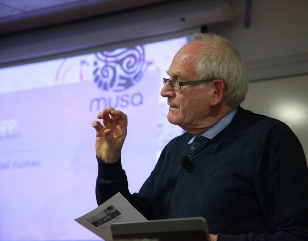 Foto Alain Schnapp, profesor de Arqueología Clásica