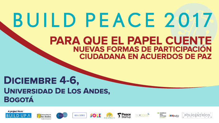 Conferencia Build Peace 2017