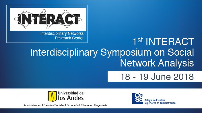 Event 1st INTERACT Interdisciplinary Symposium on Social Network Analysis