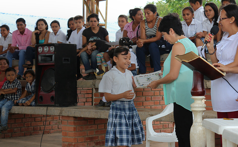 Donación, centro de estudios Orinoquía, uniandes,  Punto Nuevo, Putumayo