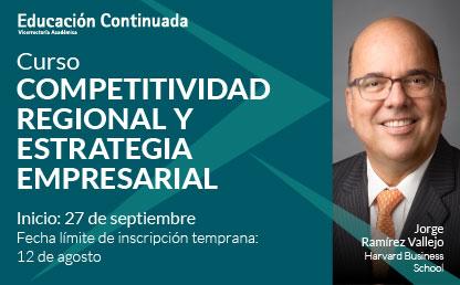 Imagen del curso 'Competitividad regional y estrategia empresarial en Cartagena'