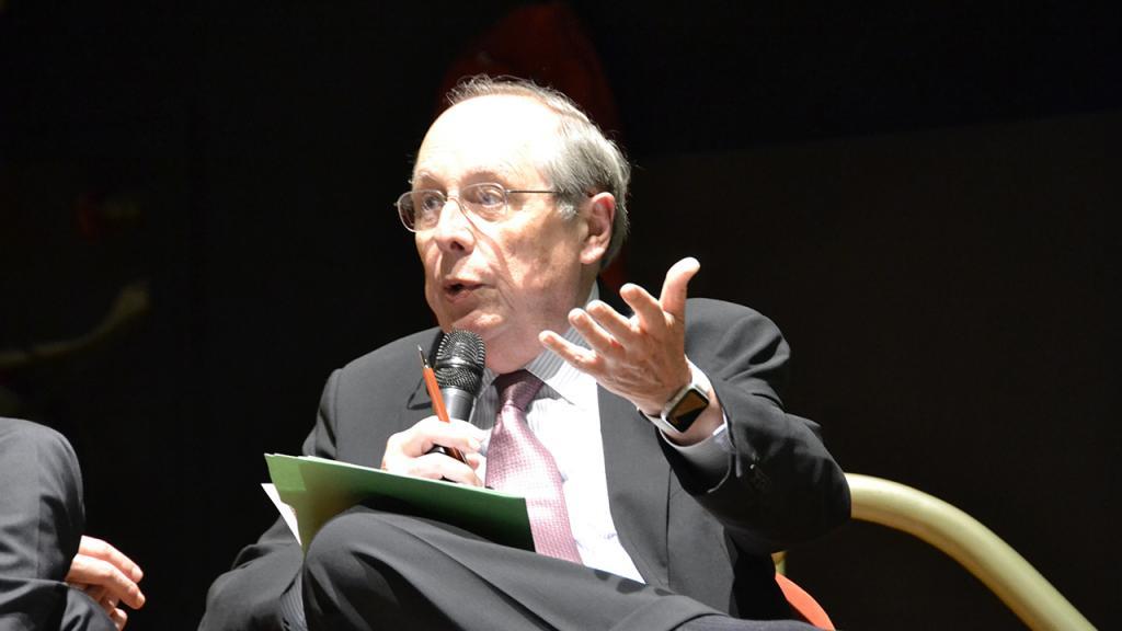 Foto del economista Guillermo Calvo