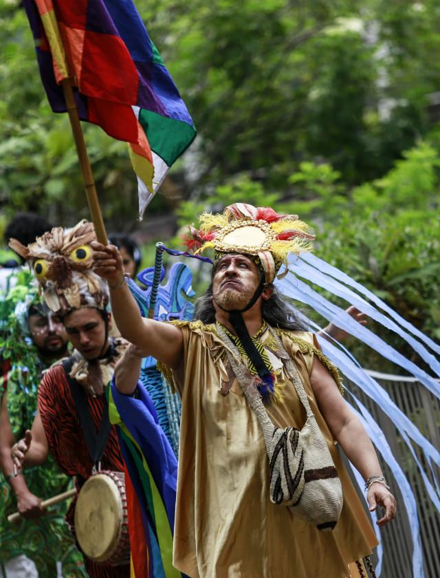 Integrantes del grupo La Caravana del Hielo