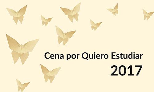 Cena por Quiero Estudiar 2017