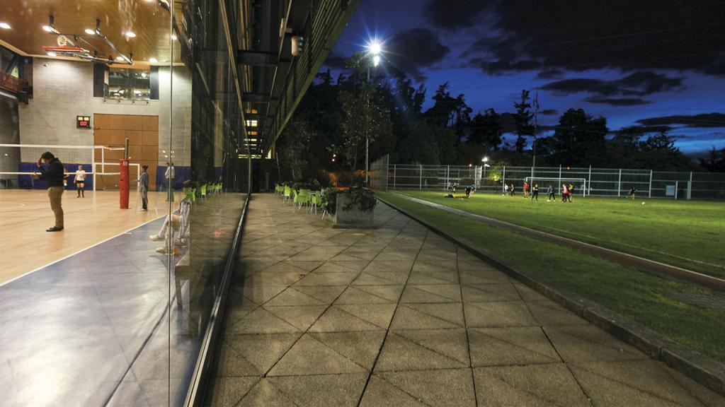 Instalaciones del centro deportivo