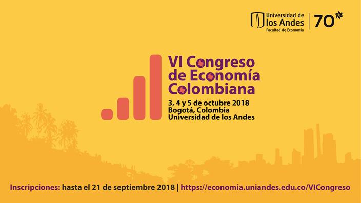 VI Congreso de Economía Colombiana