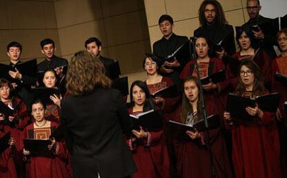 coro universidad, coro, gaudeamos igitur