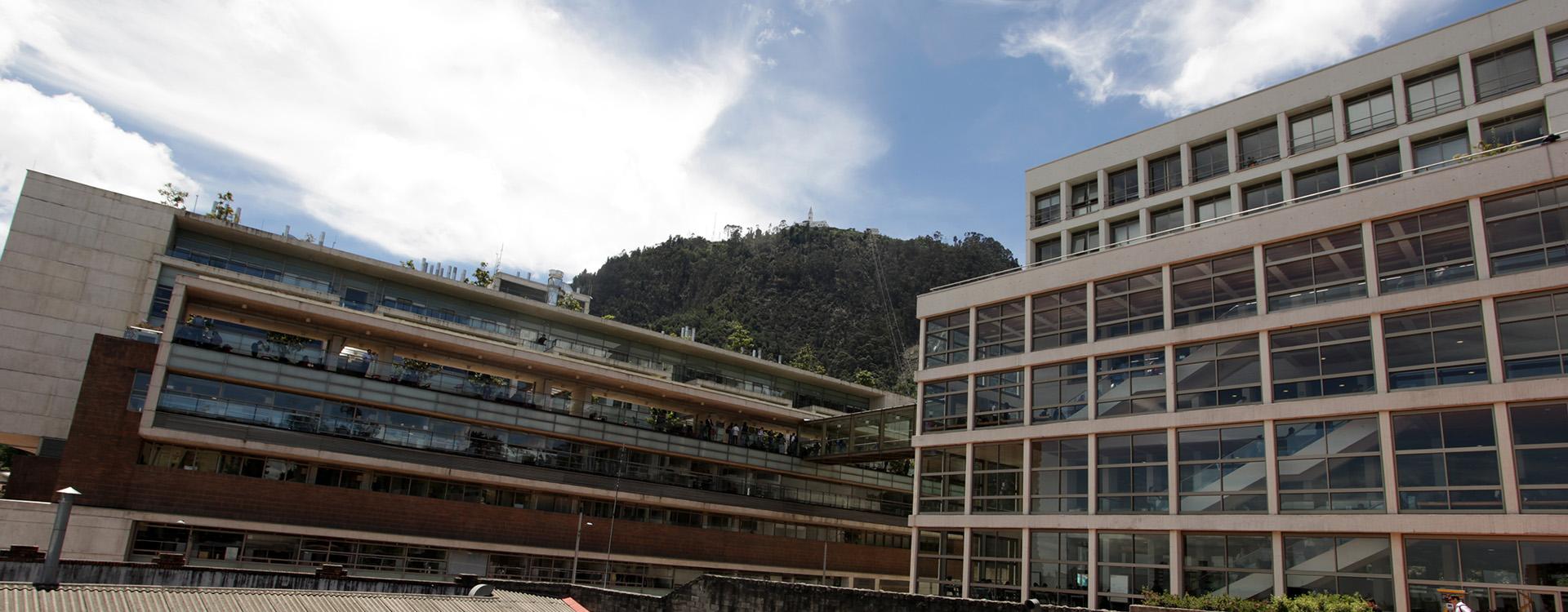 Edificios W y Mario Laserna de la Universidad de los Andes