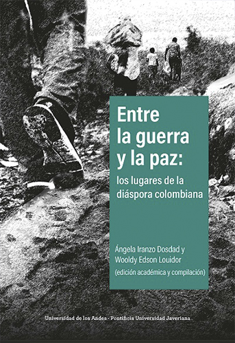 Entre la guerra y la paz: los lugares de la diáspora colombiana es una de las primeras publicaciones académicas en Colombia que hacen una aproximación multidisciplinar y multisituada sobre los lugares con más de medio millón de víctimas transnacionales del conflicto armado en el contexto del actual proceso de paz.