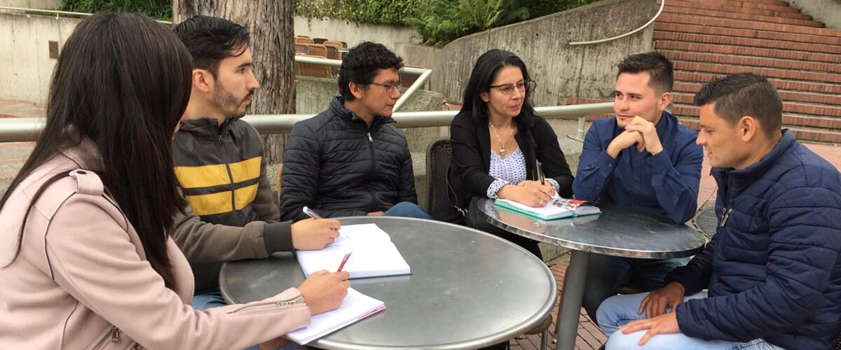 Estudiantes de la Maestría en Educación Matemática