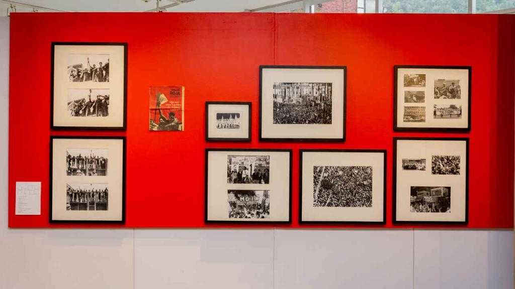 Imagen de la exposición de Viki Ospina en la Universidad de los Andes.