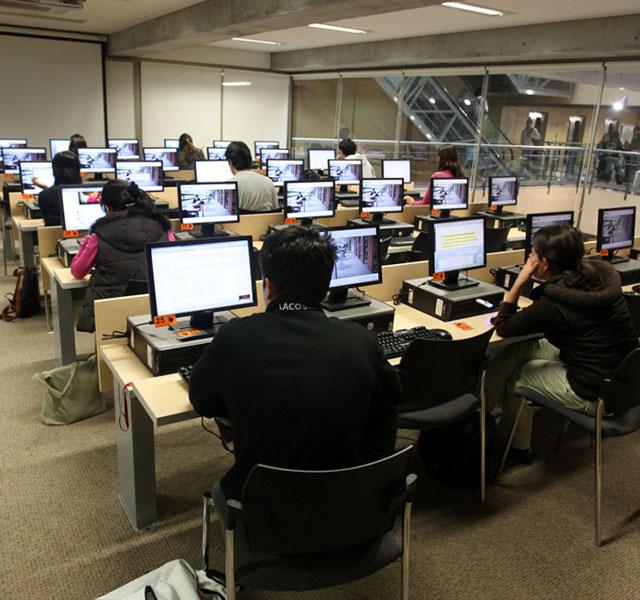 Sala de Informática Universidad de los Andes