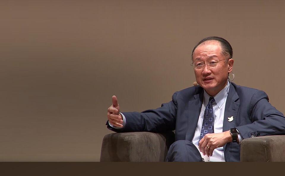 Jim Yong Kim presidente banco mundial habla proceso de paz colombia