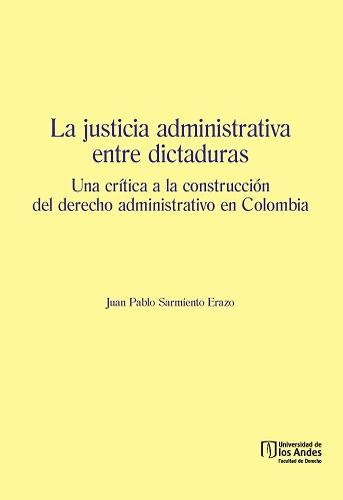 """Esta obra pretende determinar de qué manera actuó la justicia administrativa ante al autoritarismo propio de los regímenes colombianos que gobernaron entre 1948 y 1958. Este espacio temporal se justifica en la medida en que se trata del período de convulsión social llamado """"la Violencia""""."""