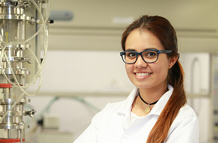 Laura Tamayo Rojas - Student of Chemical engineering and industrial engineering and beneficiary of I want to study