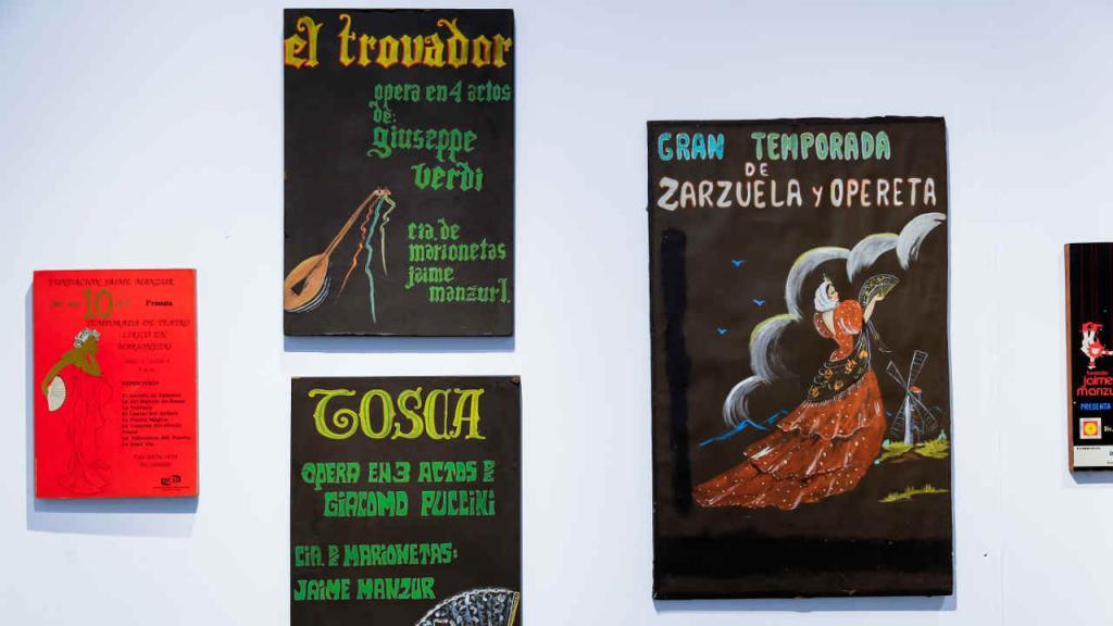Uno de los sueños de Manzur es que su teatro de marionetas se convierta en patrimonio nacional.