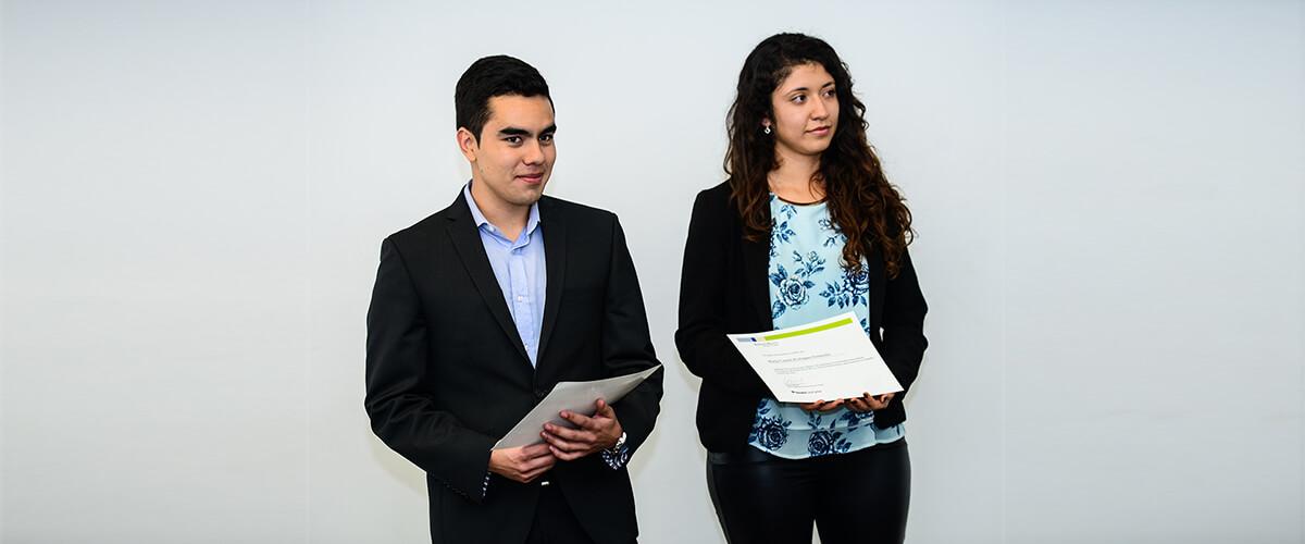 Miguel Alexander Sotelo and María Camila Rodríguez