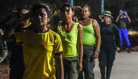 Mujeres desmovilizadas en Colombia