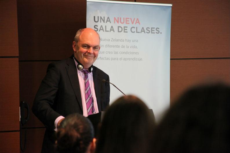 Ministro de Educación de Nueva Zelanda Jon Steven Joyce
