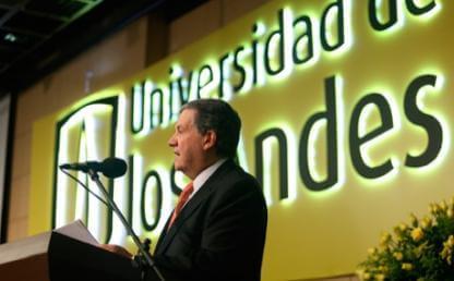 Pablo Navas, rector de la Universidad de los Andes