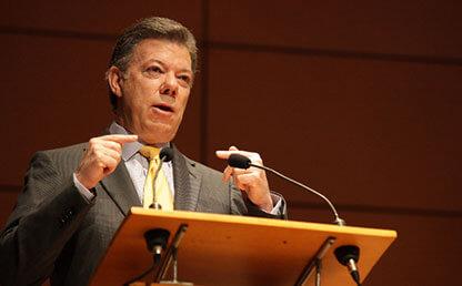 Juan Manuel Santos, nobel peace prize