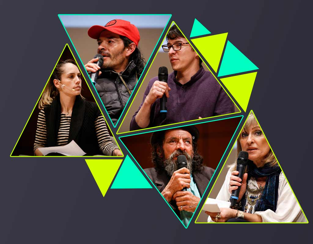 Habitantes de calle y analistas debatieron en Los Andes sobre intervención al Bronx