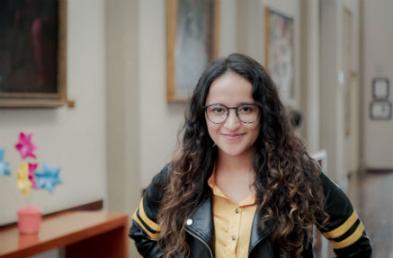 Paula Alejandra Remicio Tovar, estudiante de quinto semestre de Economía de la Universidad de los Andes.