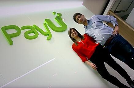 José Fernando Vélez y Ana María Sandoval de PayU