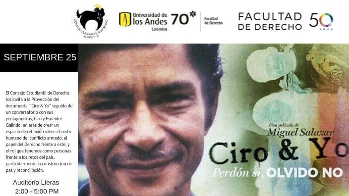Anuncio de la película 'Ciro y Yo'
