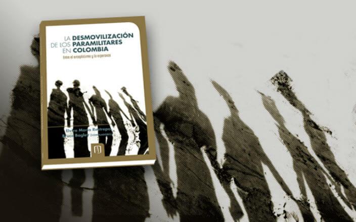 carátula de libro que habla sobre desmovilización