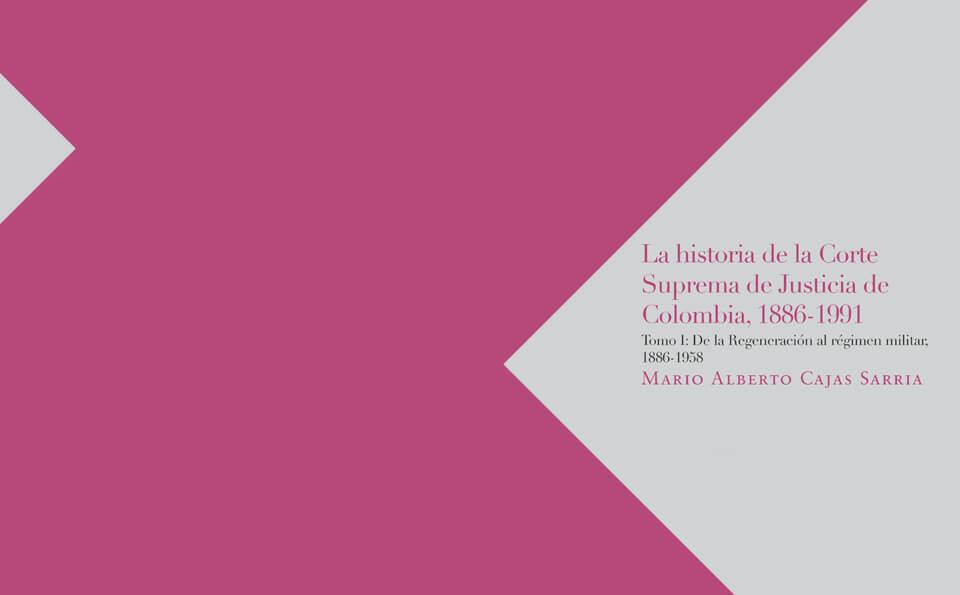 portada de libro sobre la corte suprema como causa del conflicto