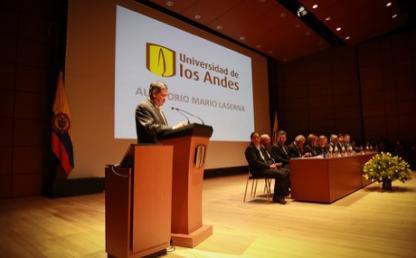discurso del rector Pablo Navas