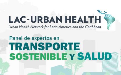 Gráfico  Panel transporte sostenible y salud.