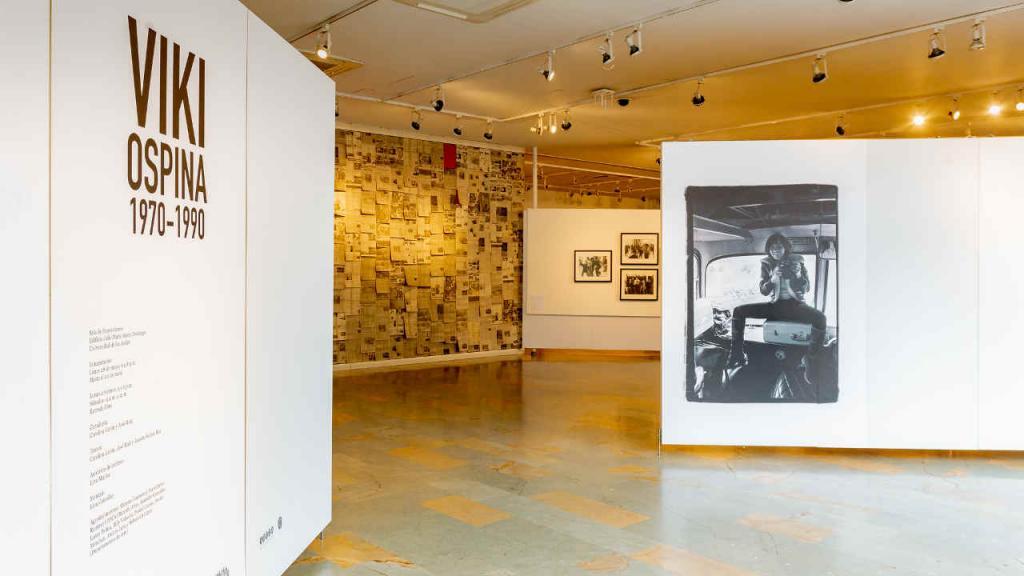 Una de las imágenes que abren la exposición sobre las fotos de Viki Ospina.