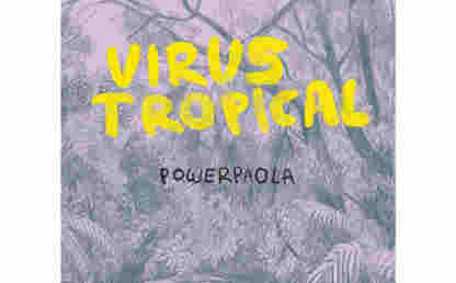 The poster for Tropical Virus, the graphic novel on which the film made by the Uniandes alumni is based.