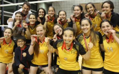 Equipo femenino de voleibol de Los Andes