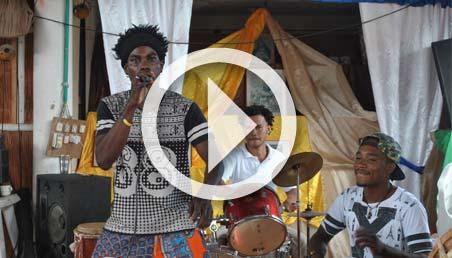 Imagen de músicos de Tumaco