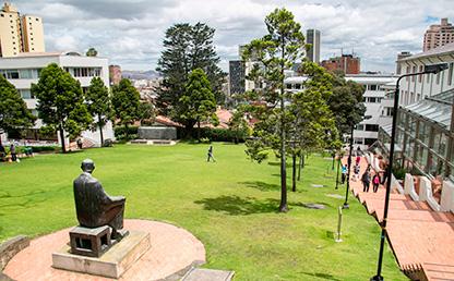 Prado San Alberto Magno, campus Universidad de los Andes
