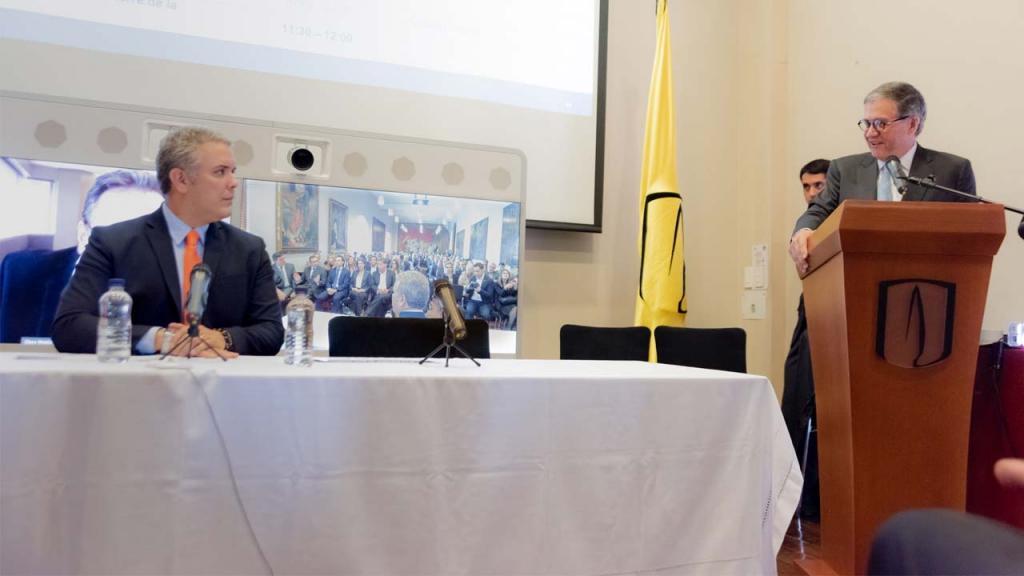 Imagen de Iván Duque y Pablo Navas.