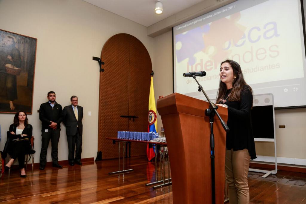 Ceremonia de agradecimiento a embajadores LiderAndes