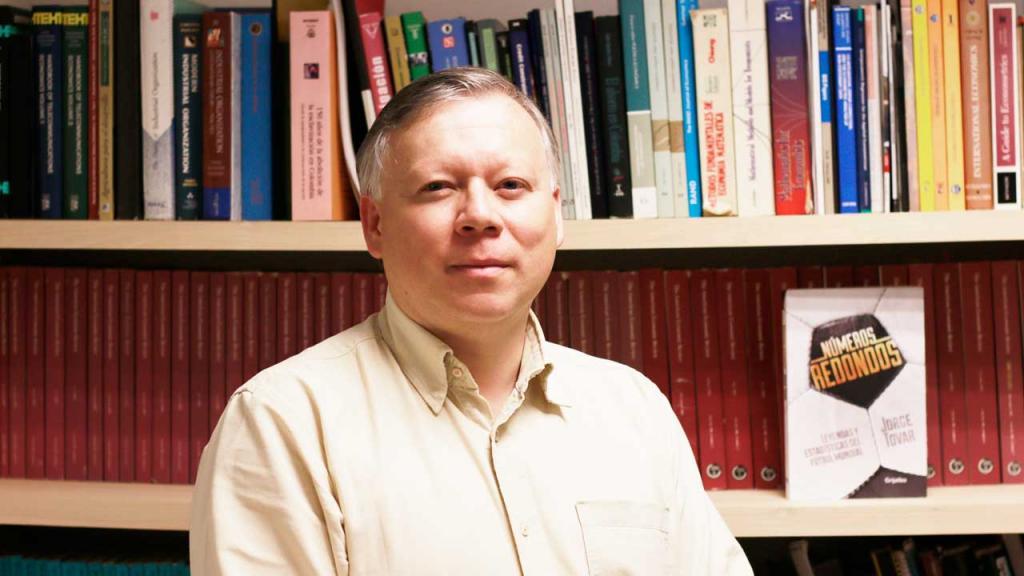 Jorge Tovar Profesor de Economía de la Universidad de los Andes