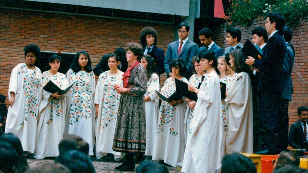 Fotografía Coro de los Andes