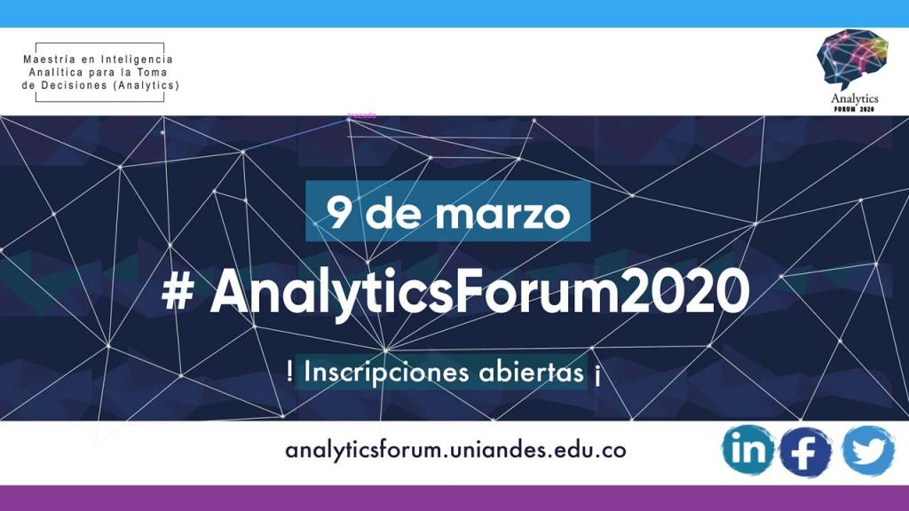 Graficación Analytics Forum 2020