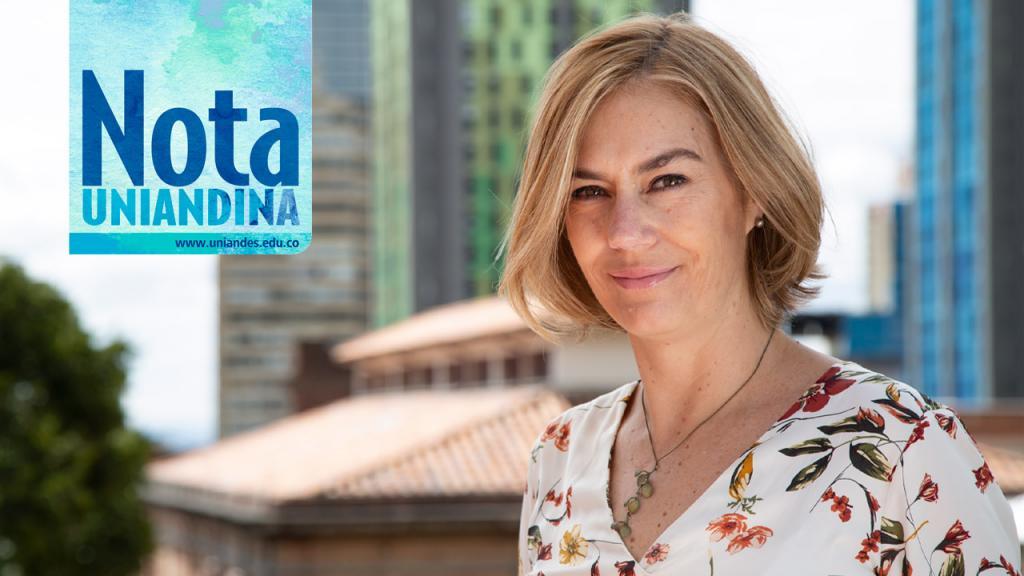 Angelika Rettberg, profesora del Departamento de Ciencia Política de Los Andes