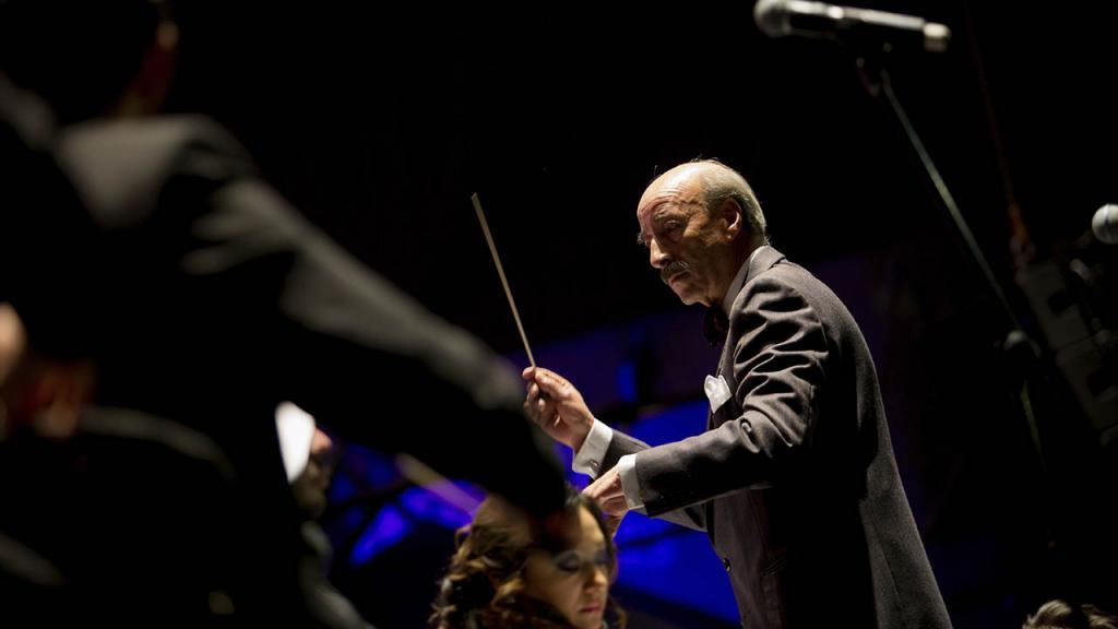 Director de la orquesta