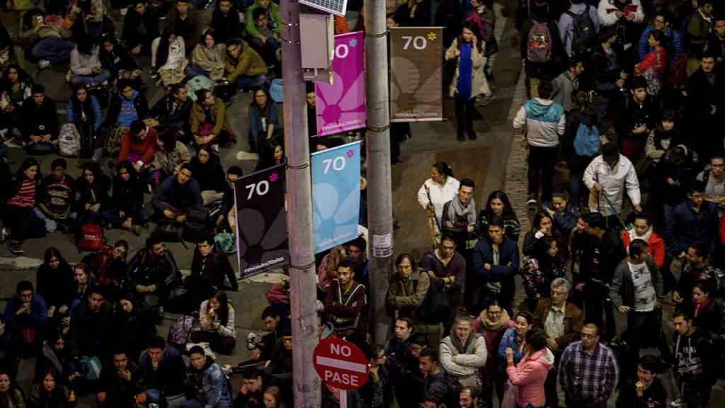 Público en concierto Carmina Burana